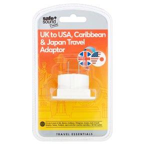Safe + Sound USA & Asia Adaptor