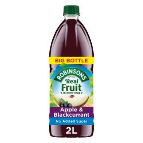 Robinsons Apple & Blackcurrant No Added Sugar