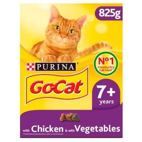 Go-Cat Senior Dry Cat Food Chicken Rice and Veg