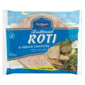 Nishaan 6 Indian chapatis roti
