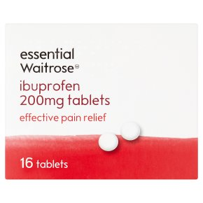 essential Waitrose Ibuprofen Tablets