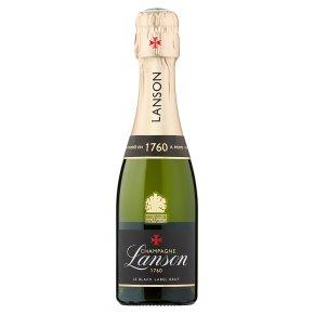 Lanson Black Label Brut Champagne Small Bottle