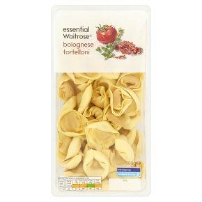 essential Waitrose fresh pasta bolognese tortelloni
