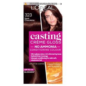 L'Oréal casting 323 dark chocolate