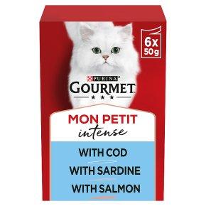 Gourmet Mon Petit Cat Food Pouches Fish