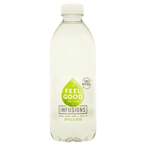 The Feel Good Drinks Co Apple & Rose Water
