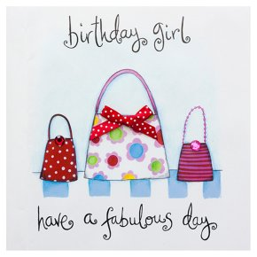 have a fabulous day birthday girl card waitrose partners
