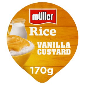 Müller rice vanilla custard