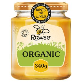 Rowse organic pure honey