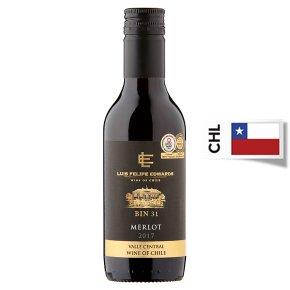 Luis Felipe Edwards, Merlot, Chilean, Red Wine, Small Bottle
