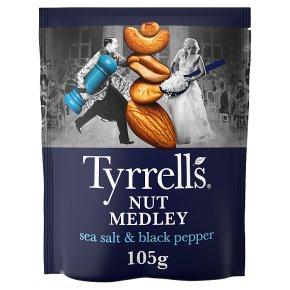Tyrrells Nut Medley Sea Salt & Ground Black Pepper