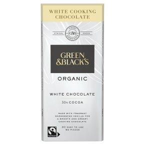 Green & Black's organic cooking chocolate white