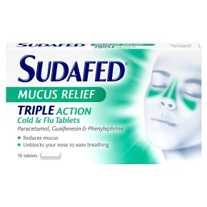 Sudafed Mucus Relief Tablets