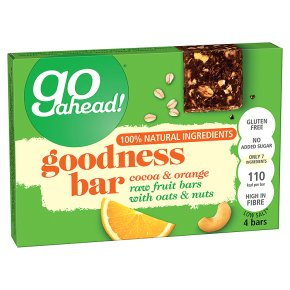 Go Ahead! Goodness Bar Cocoa & Orange