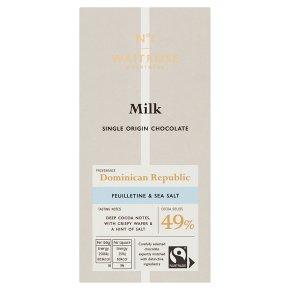 No.1 Milk Chocolate with Feuilletine & Salt