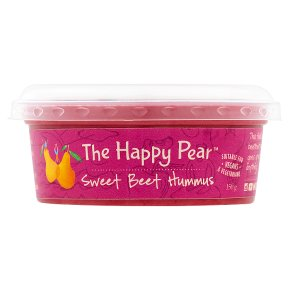 The Happy Pear Sweet Beet Hummus