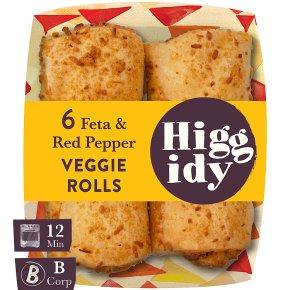 Higgidy Feta & Red Pepper Rolls