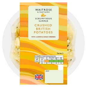 Waitrose Crushed British Potatoes