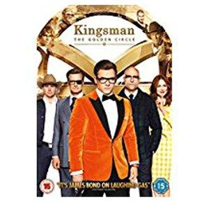 DVD Kingsman the Golden Circle