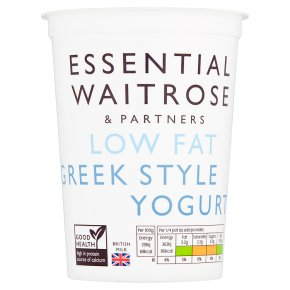 essential Waitrose Low Fat Greek Style Yogurt