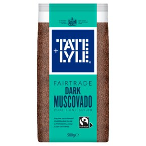 Tate & Lyle Fairtrade Dark Muscovado Sugar