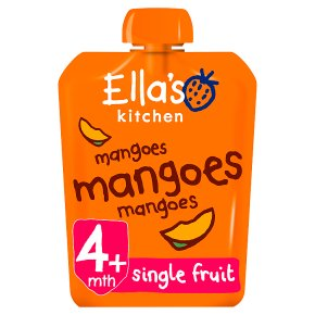 ellas kitchen organic first tastes mangoes mangoes mangoes baby food - Ellas Kitchen