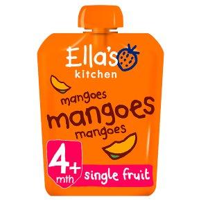 Ella's Kitchen Organic first tastes mangoes mangoes mangoes baby food