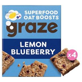 Graze Lemon & Blueberry Oat Squares