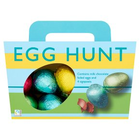 Waitrose Milk Chocolate Easter Egg Hunt