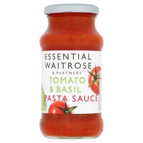 essential Waitrose Tomato & Basil Pasta Sauce