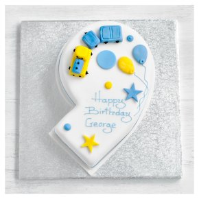 9th Birthday Train Cake