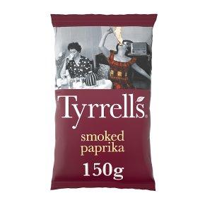 Tyrrells smoked paprika crisps