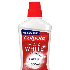 Colgate Max White mouthwash