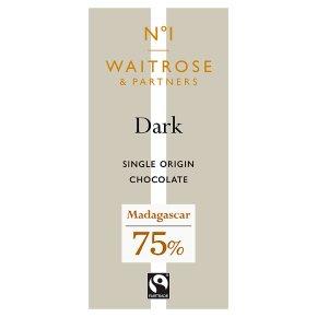 No.1 Madagascan Dark Chocolate 75%