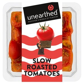 Unearthed slow roasted sun-drenched tomatoes