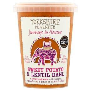 Yorkshire Provender Sweet Potato & Lentil Dahl