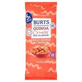 Burts Quinoa Crinkles Pepper & Chorizo
