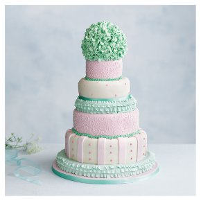 Tallulah 5 tier Wedding Cake, Fruit (all tiers)