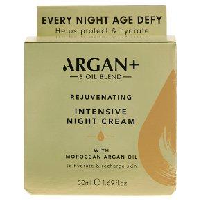 Argan+ 5 Argan Oil Overnight Cream