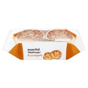 essential Waitrose 8 Crumpets