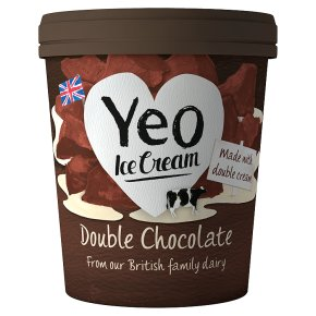 Yeo Valley Organic Ice Cream Double Chocolate