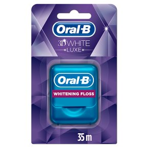 Oral-B 3D White Luxe Whitening Floss