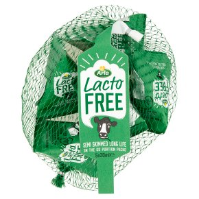 Arla Lactofree Semi Skimmed Long Life Portion Packs