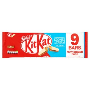 KitKat 2 Finger Cookies & Cream multipack