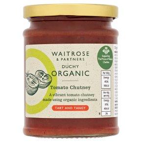 Waitrose Duchy Organic tomato chutney