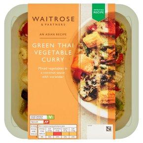 Waitrose Asian Green Thai Vegetable Curry