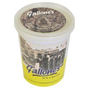 Gallone's ice cream chocolate choc chip