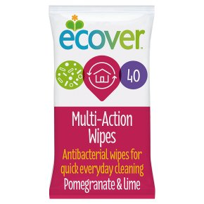 Ecover wipes pomegranate & lime