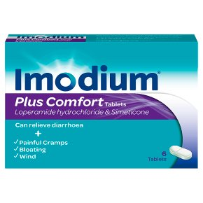 Imodium Plus Comfort Tablets