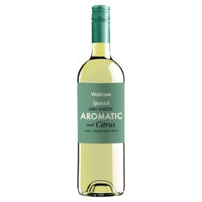 Waitrose Aromatic & Citrus Spanish White Wine